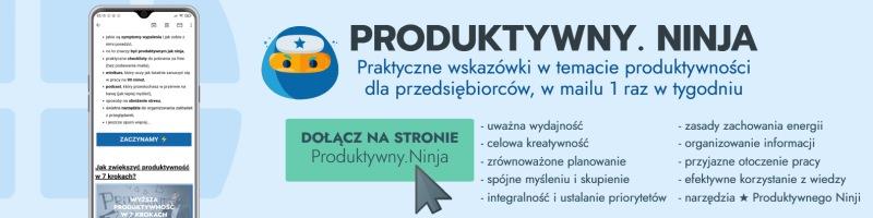 newsletter ninja produkywności