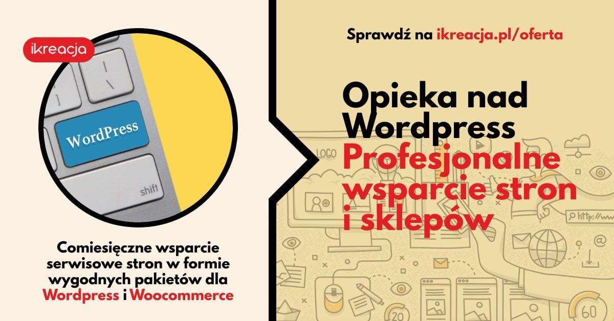 profesjonalne wsparcie serwisowe stron wordpress woocommerce pakiety